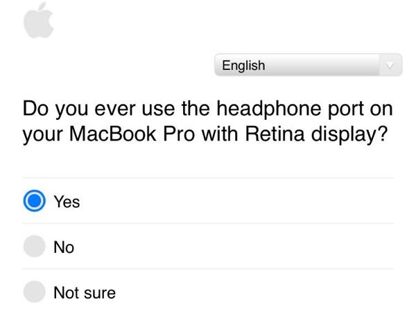 macbook port audio