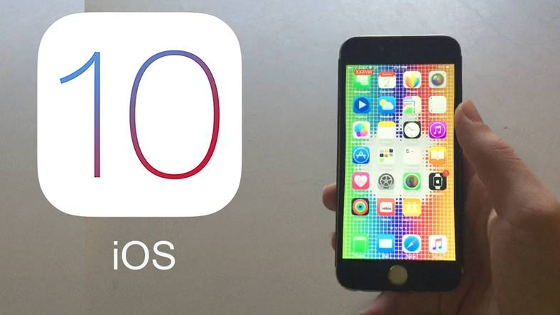 noutati ios 10 iphone ipad
