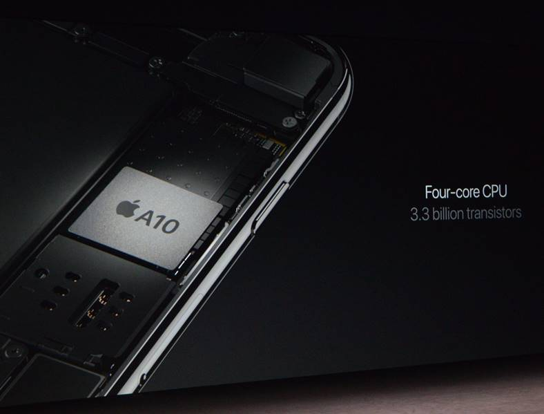 procesor quad-core iphone 7
