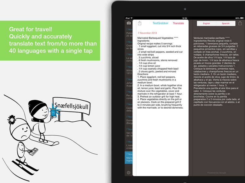 textgrabber translator reducere