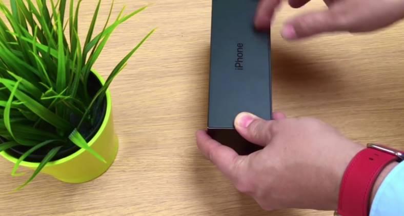 unboxing iphone 7 jet black