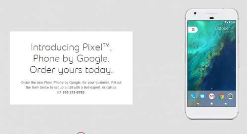 google pixel phone oficial