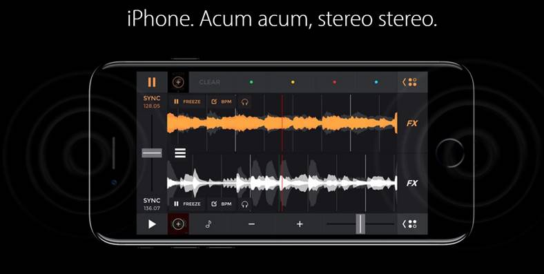 iphone 7 stereo inteligent