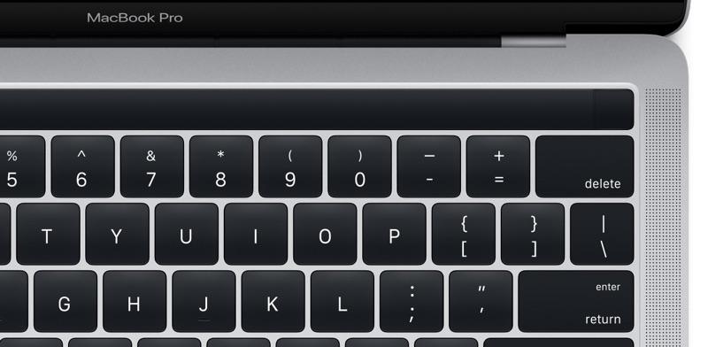 MacBook Pro 2016 OLED 1