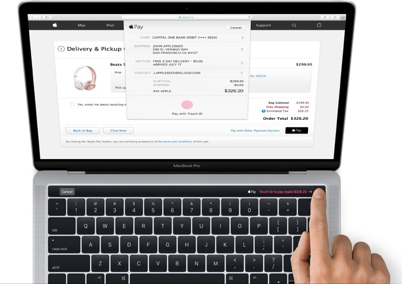 MacBook Pro 2016 OLED