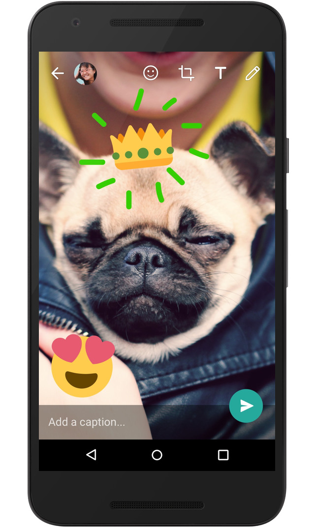 whatsapp-scris-emoji-poze-video