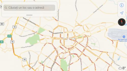 apple-maps-informatii-trafic-bulgaria