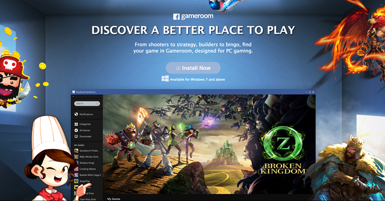 facebook-gamesroom