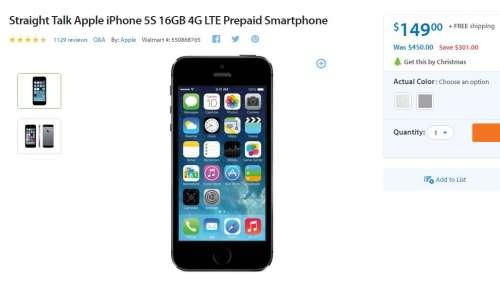 iphone-5s-150-dolari-walmart