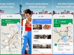 Google Maps navigatie iphone ipad