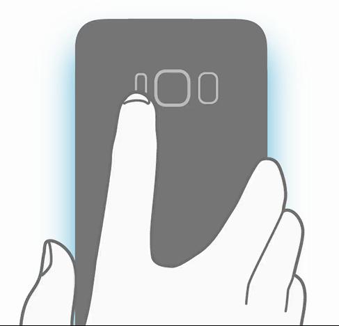 Samsung Galaxy S8 cititor amprente oficial