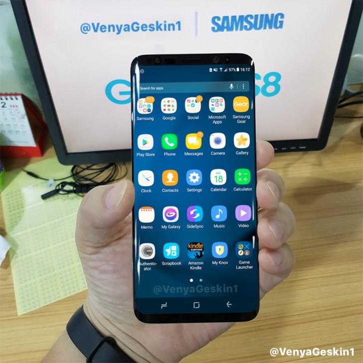 Samsung Galaxy S8 pornit imagini