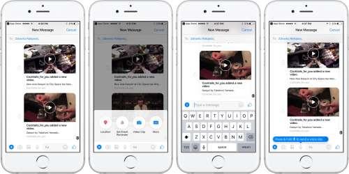facebook-messenger-interfata-design