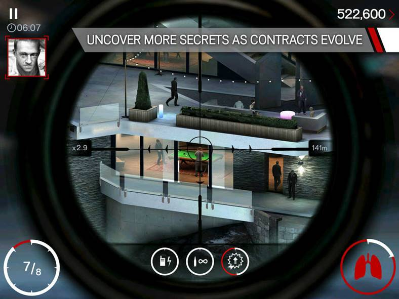 hitman sniper pret redus iphone