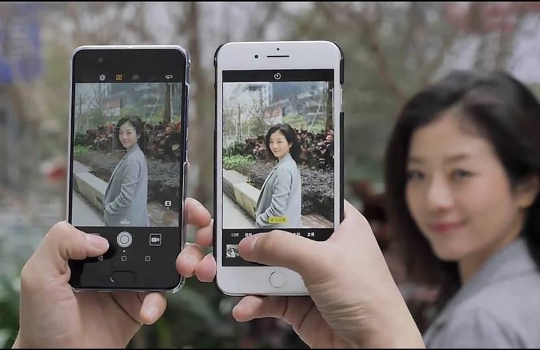 huawei p10 plus comparatie iphone 7 plus
