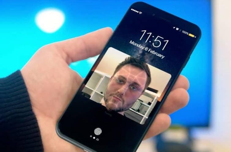iphone 8 recunoastere faciala