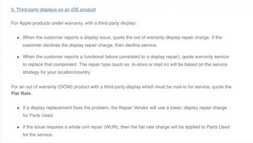 iphone garantie inlocuire ecran