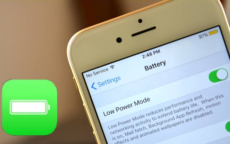 iphone low power mode personalizare