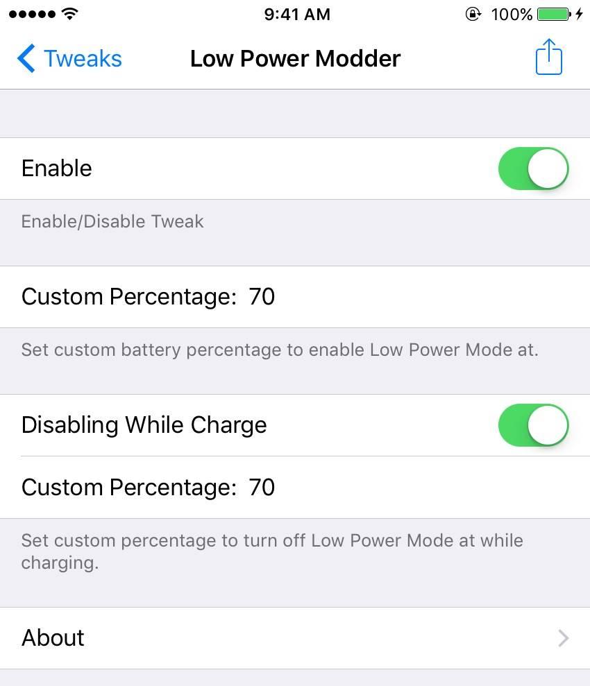 low power modder