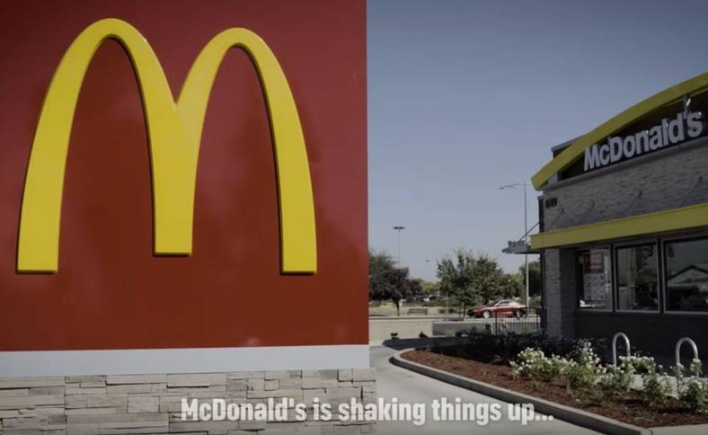 mcdonald's parodie shake prezentare apple