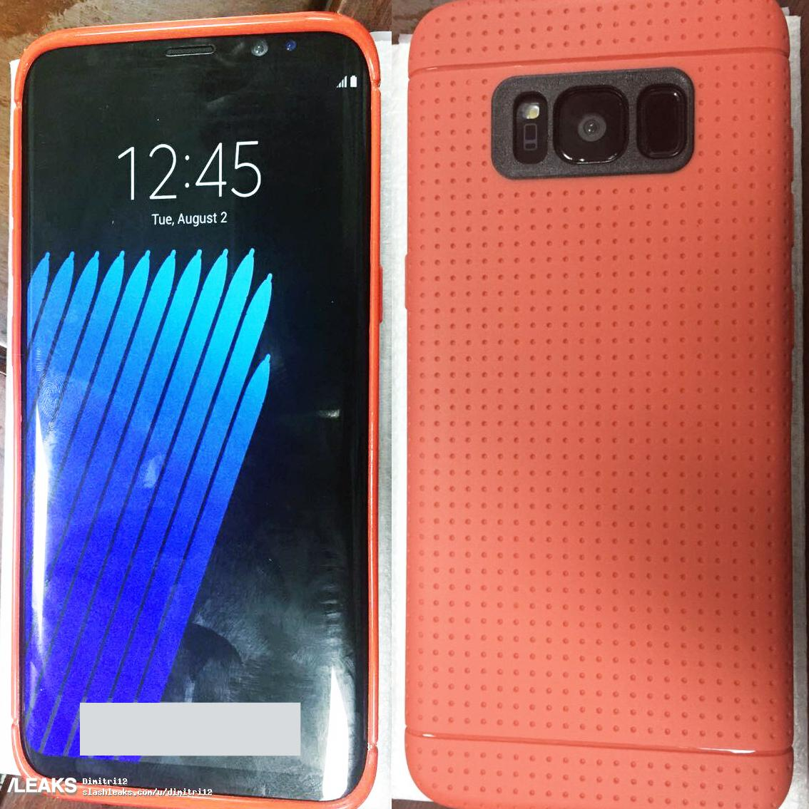 samsung galaxy s8 imagine carcasa