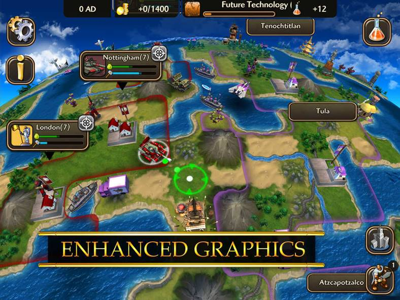 Civilization Revolution 2 oferta iphone ipad