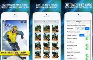 Fast-Camera iphone aplicatie