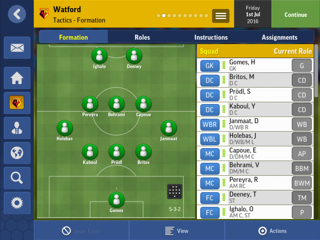 Football Manager Mobile 2017 reducere