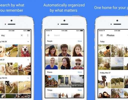 Google Photos poze internet slab