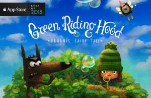 Green Riding Hood iphone