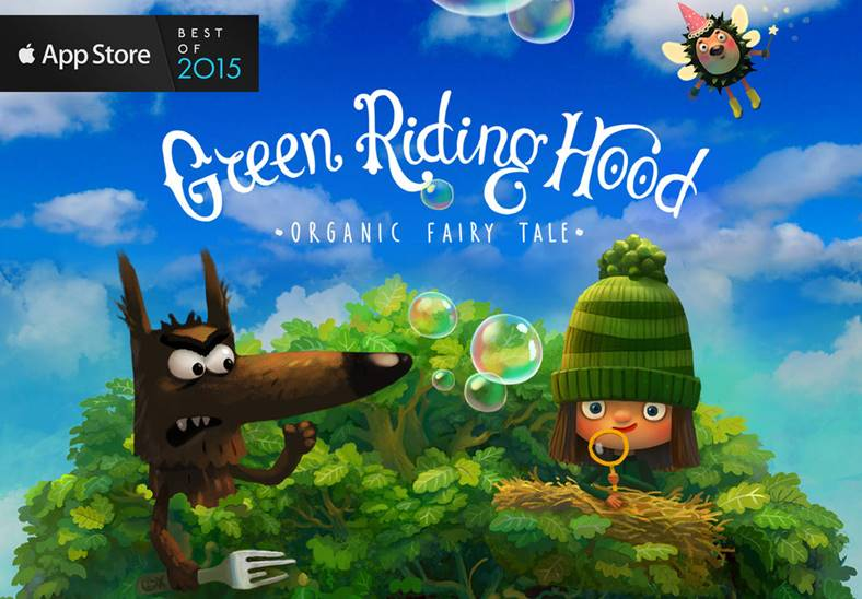 Green Riding Hood iphone
