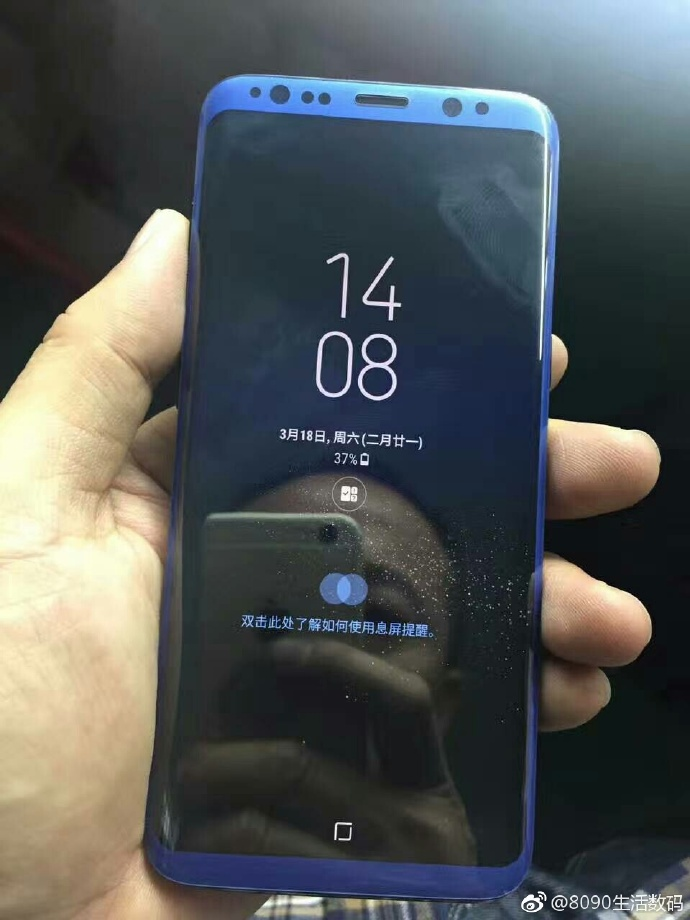 Samsung Galaxy S8 albastru functional