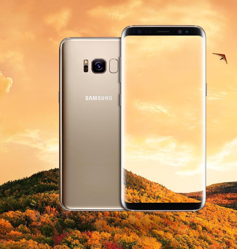 Samsung Galaxy S8 auriu