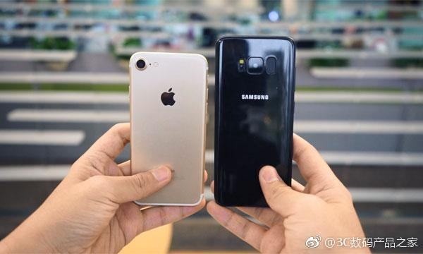 Samsung Galaxy S8 si iPhone 7