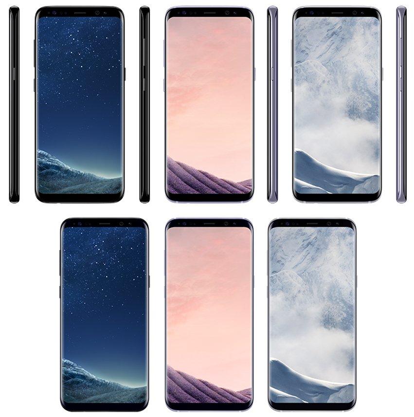Samsung Galaxy S8 violet gri argintiu