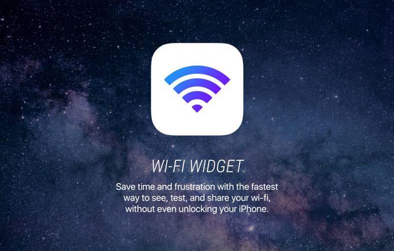 Wi-Fi Widget iphone promotie