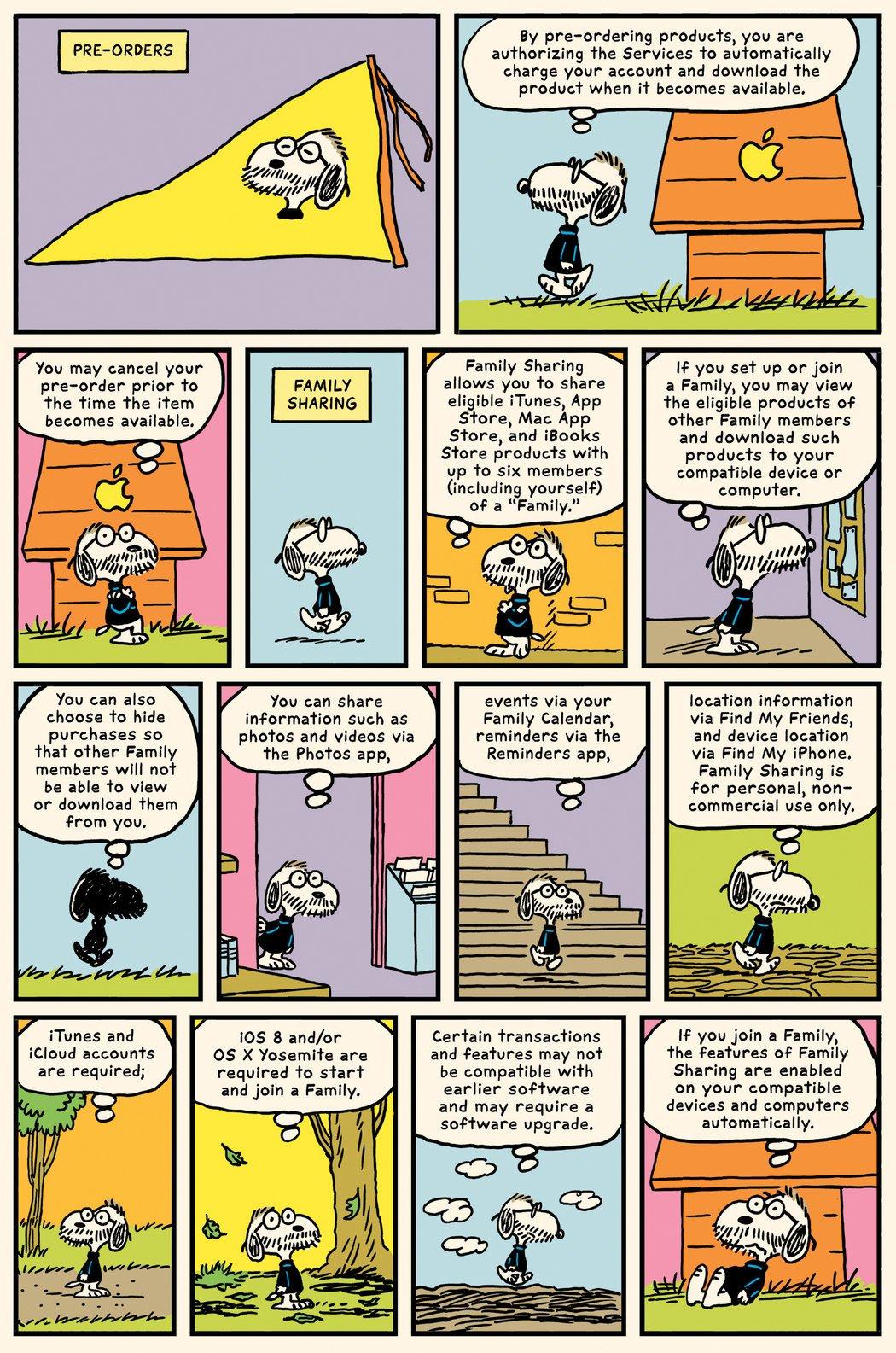 conditii itunes benzi desenate 3