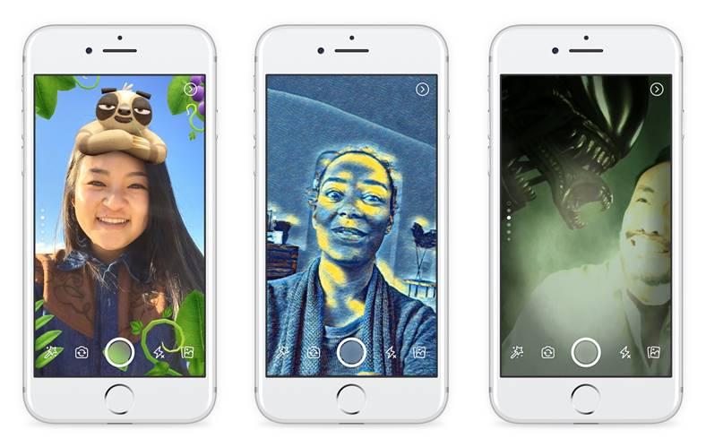 facebook efecte 3d camera