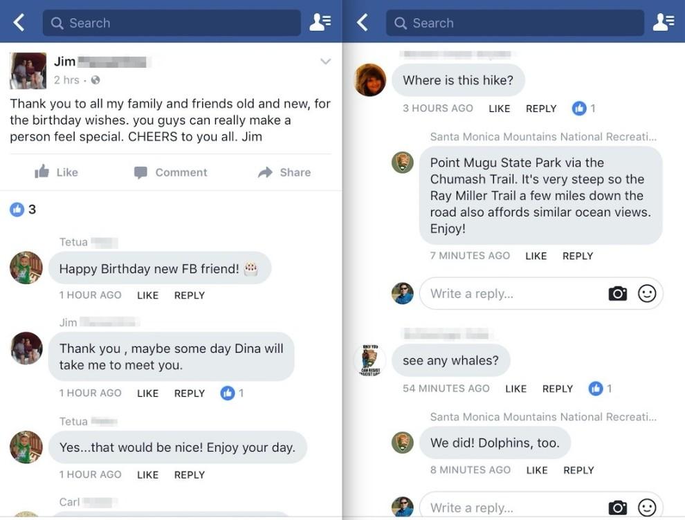 facebook interfata comentarii