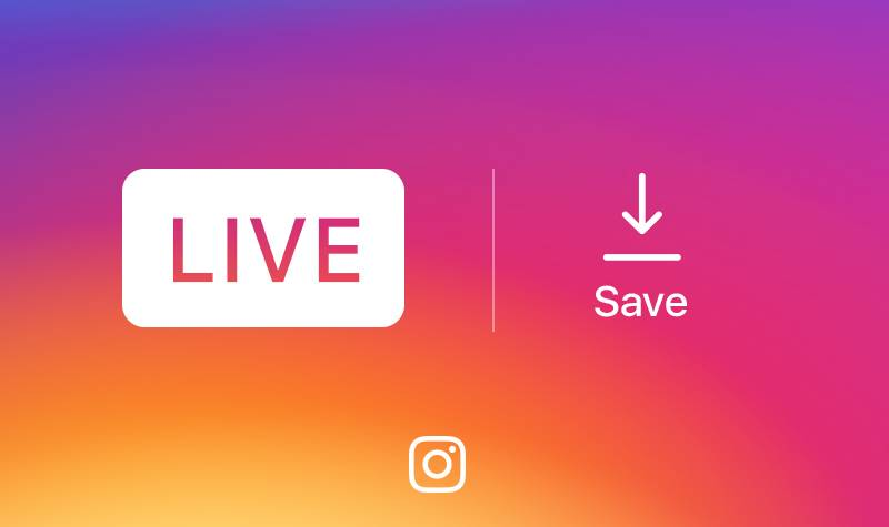 instagram salvare live