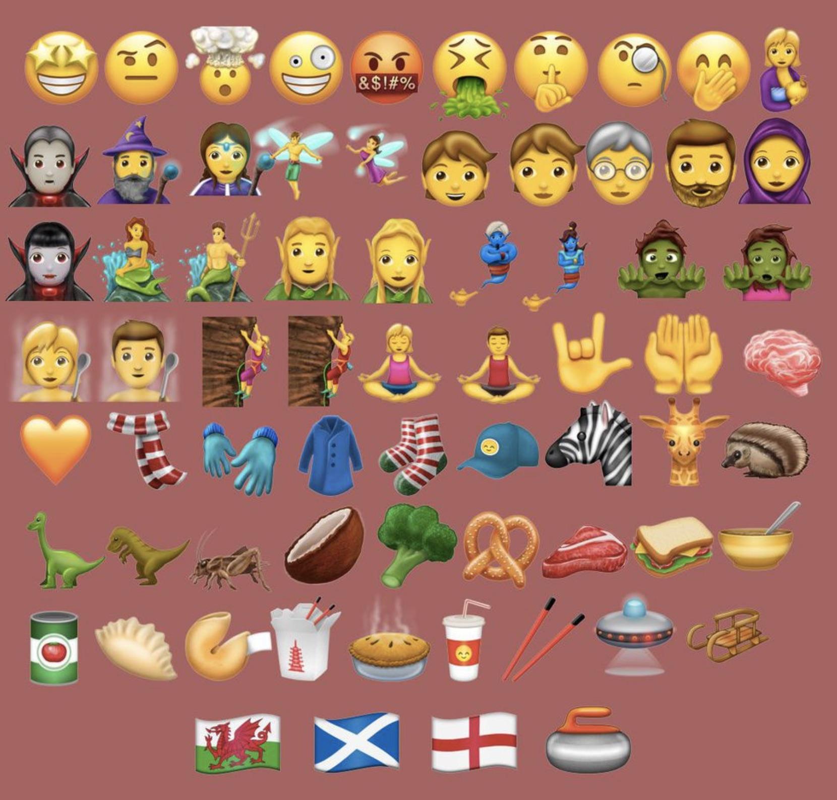 ios 10 caractere emoji unicode
