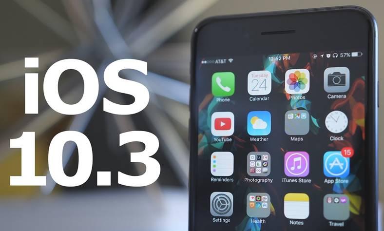 ios 10.3 autonomie baterie iphone ipad