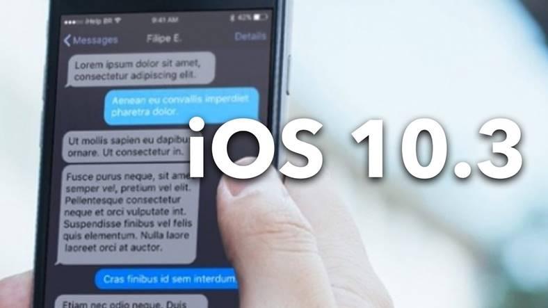 ios 10.3 beta 4 performante