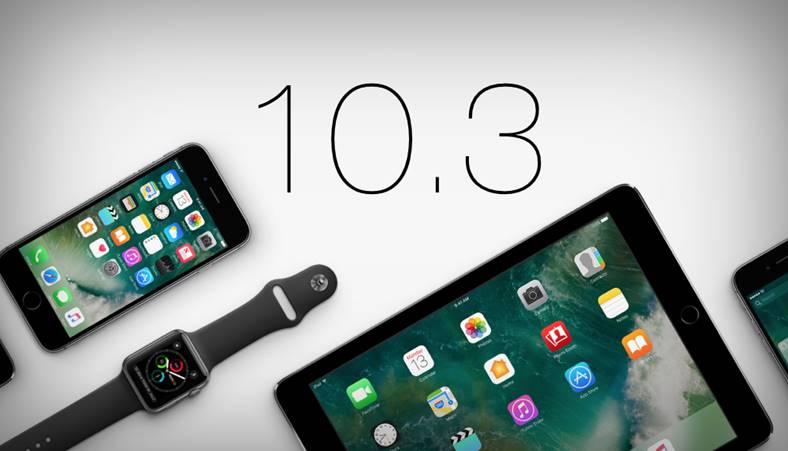 ios 10.3 beta 7 performante