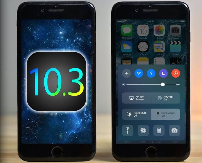 ios 10.3 iphone rapid ipad