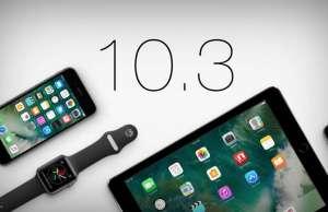 ios 10.3 probleme iphone ipad