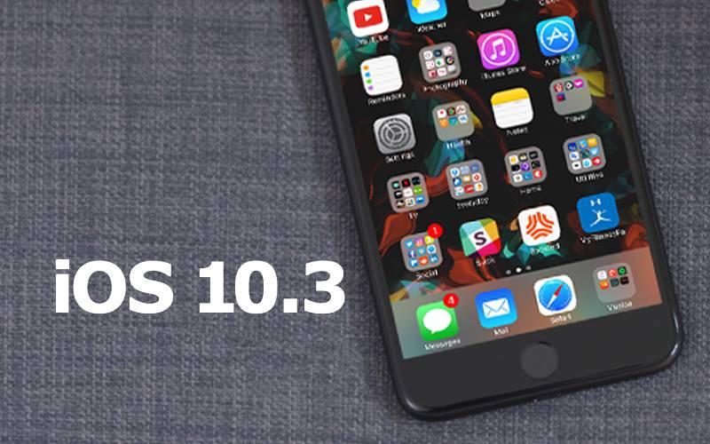 ios 10.3 stocare iphone ipad