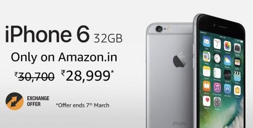 iphone 6 32 gb amazon india