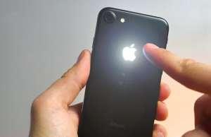 iphone 7 logo iluminat atingere