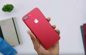 iphone 7 rosu unboxing